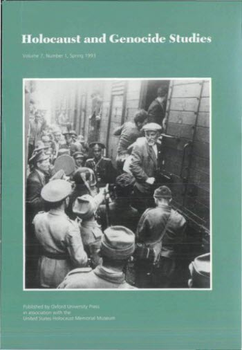 holocaust and genocide studies cover image