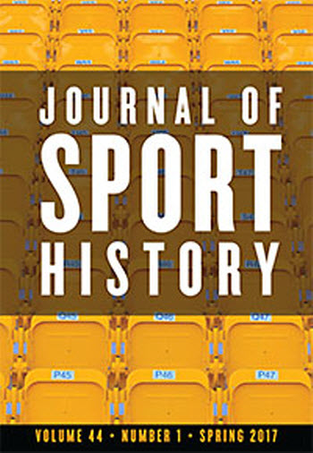 journal of sport history cover image