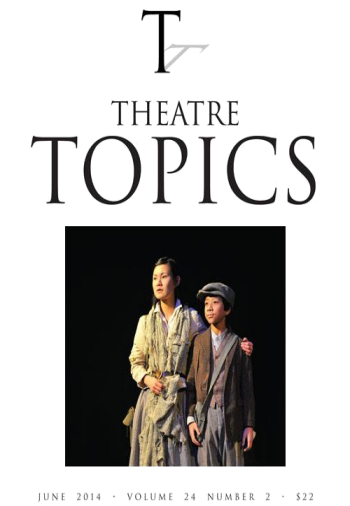 theatre topics cover image