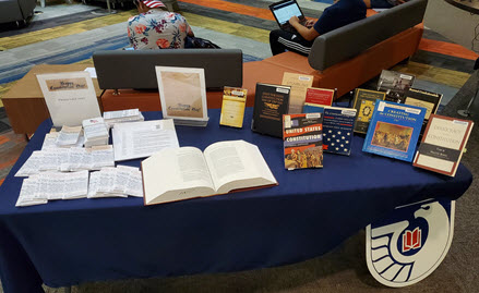 Constitution Day 2019 book display