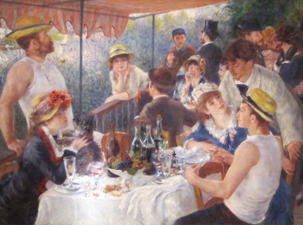 Image of Luncheon of the Boating Party by Renoir