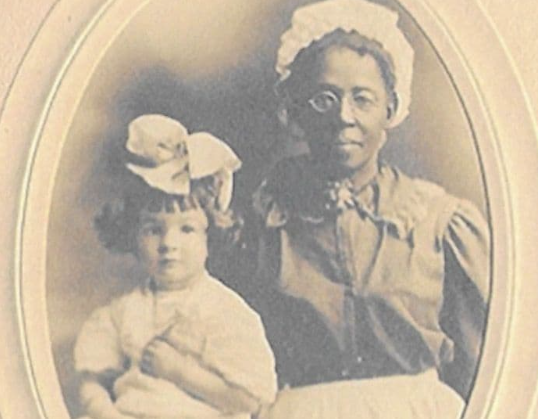 Photo of a Slave Woman and her Mulatto Child