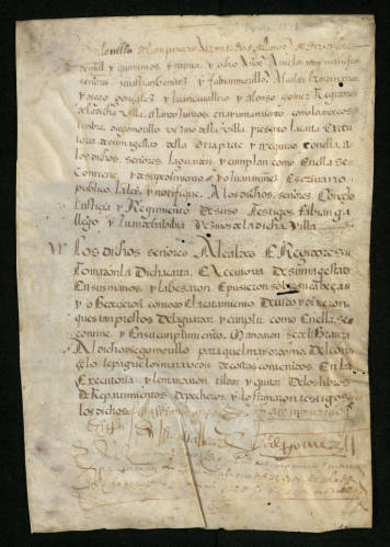 manuscript on vellum