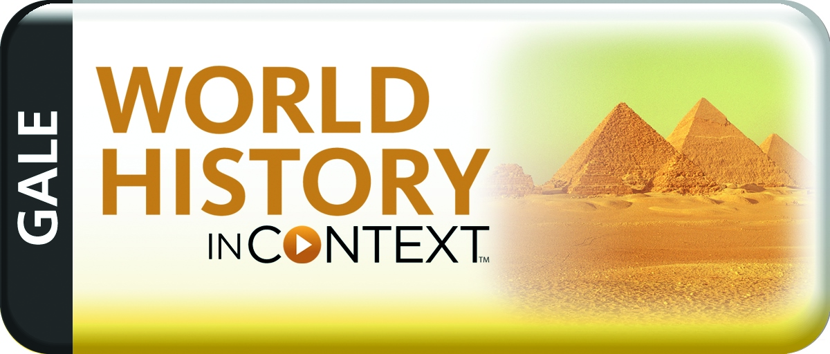 Icon GALE World History in Context