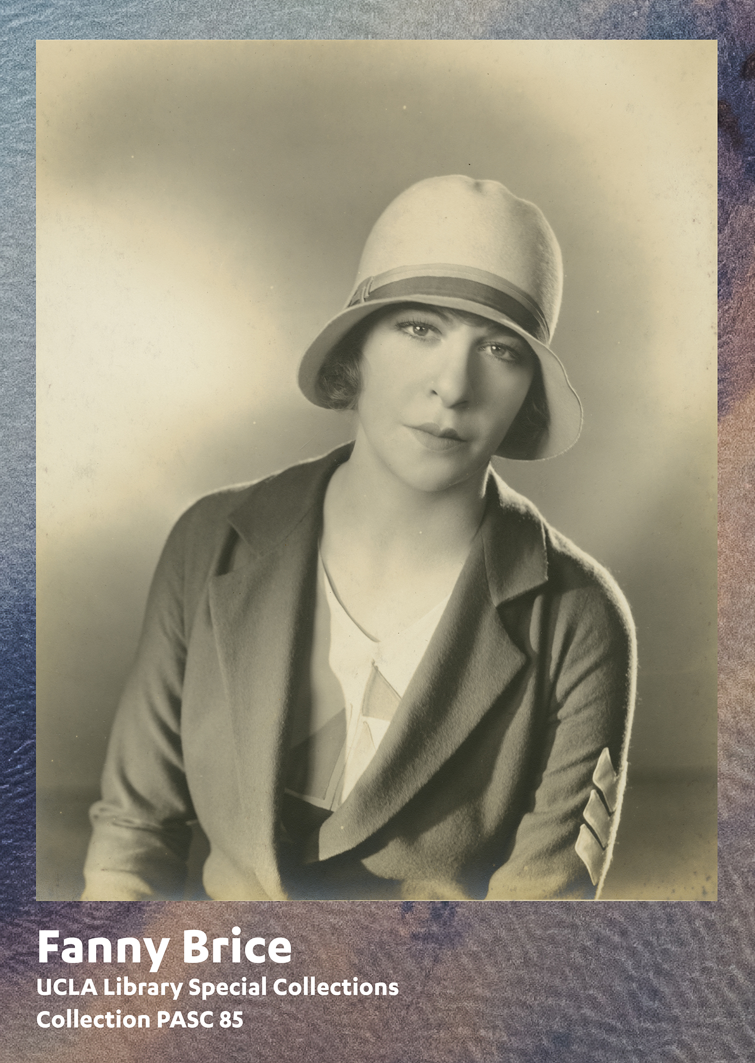 Fanny Brice, UCLA Library Special Collections, Collection PASC 85