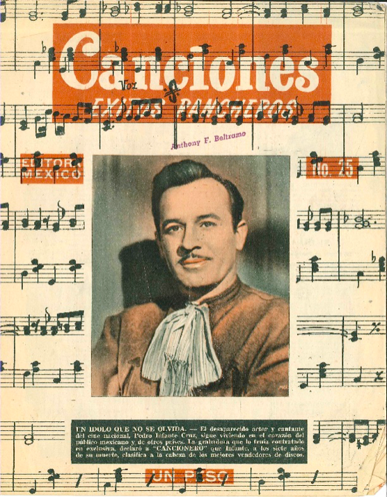 Pedro Infante sheet music