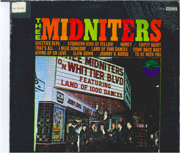 Thee Midniters CD art