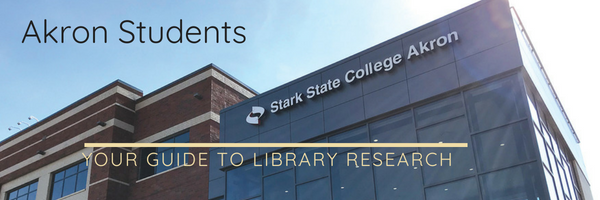 Akron student guide to library research