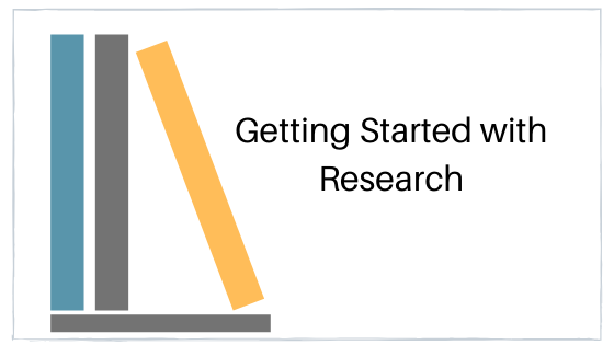 getting started with research