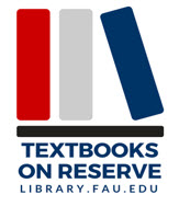 Textbooks on Reserve logo