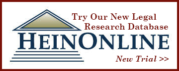HeinOnline: Legal Research Database. New trial