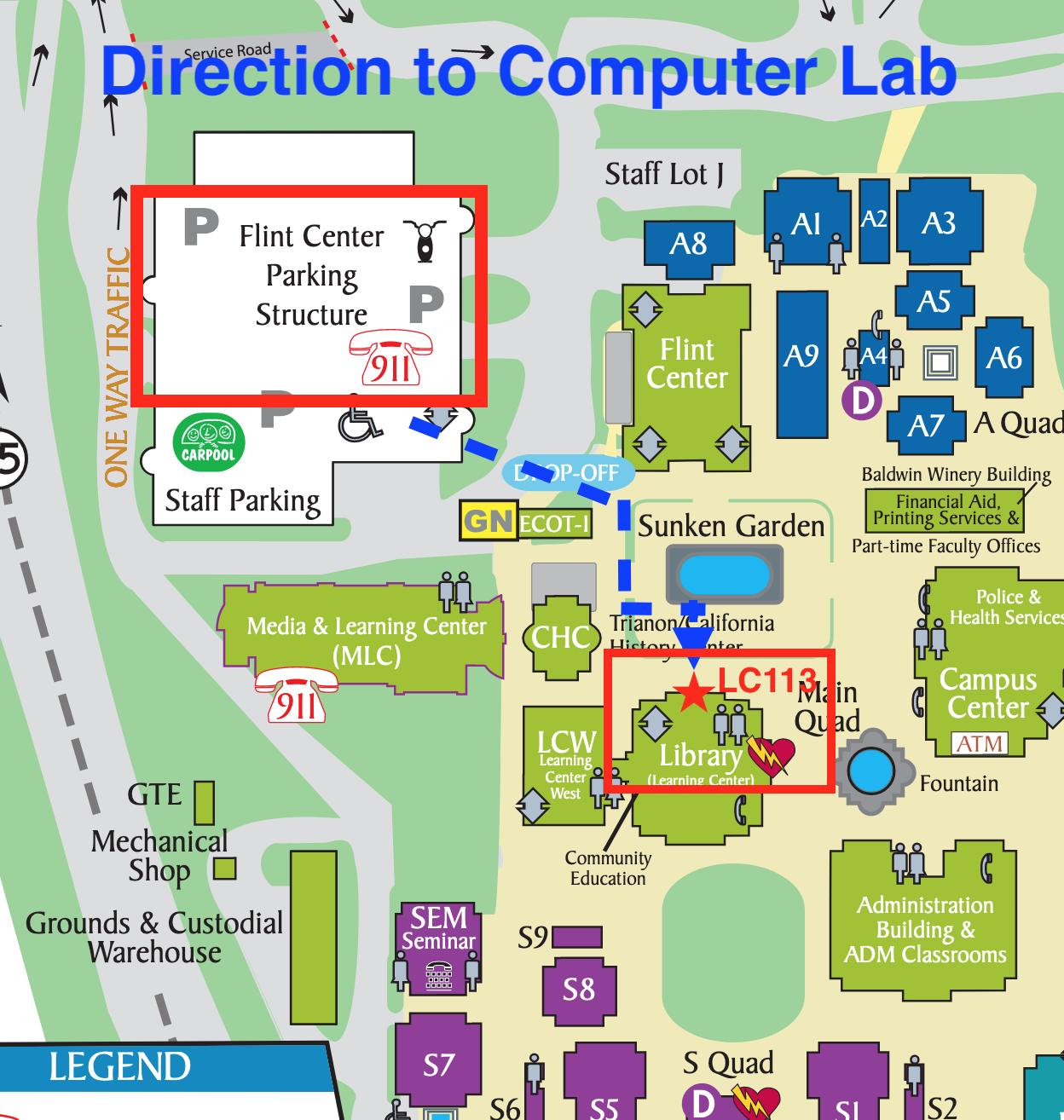 Computer Lab - LC113