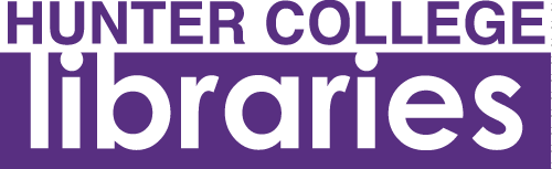 Purple Hunter College Libraries logo
