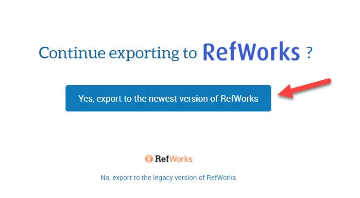 HeinOnline to Refworks