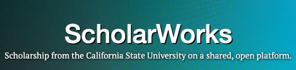 Screenshot of ScholarWorks logo.