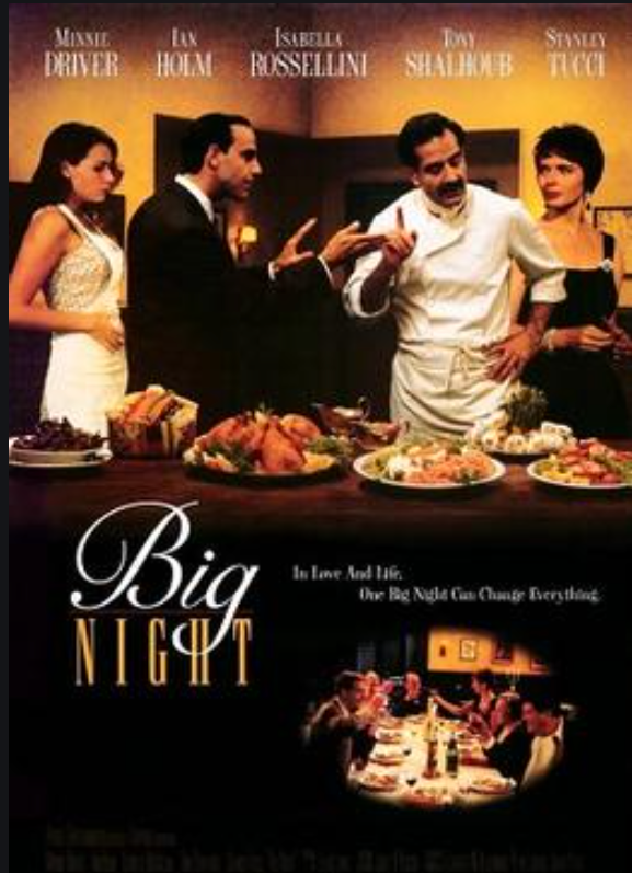Big Night movie flyer