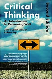 Cover of book called Critical Thinking