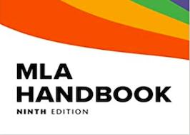 MLA handbook ninth edition cover