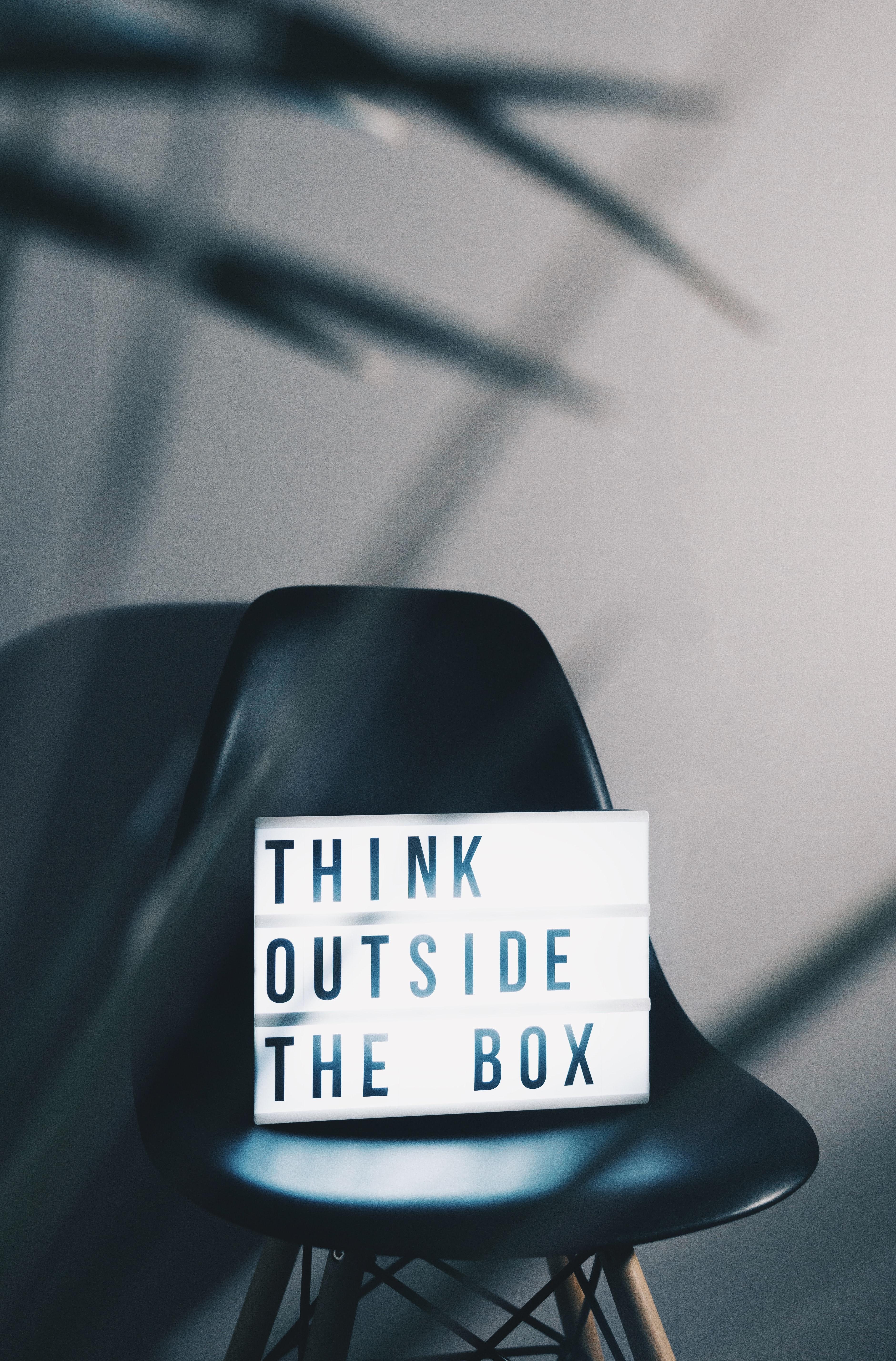 Think outside the box (by Nikita Kachanovsky)
