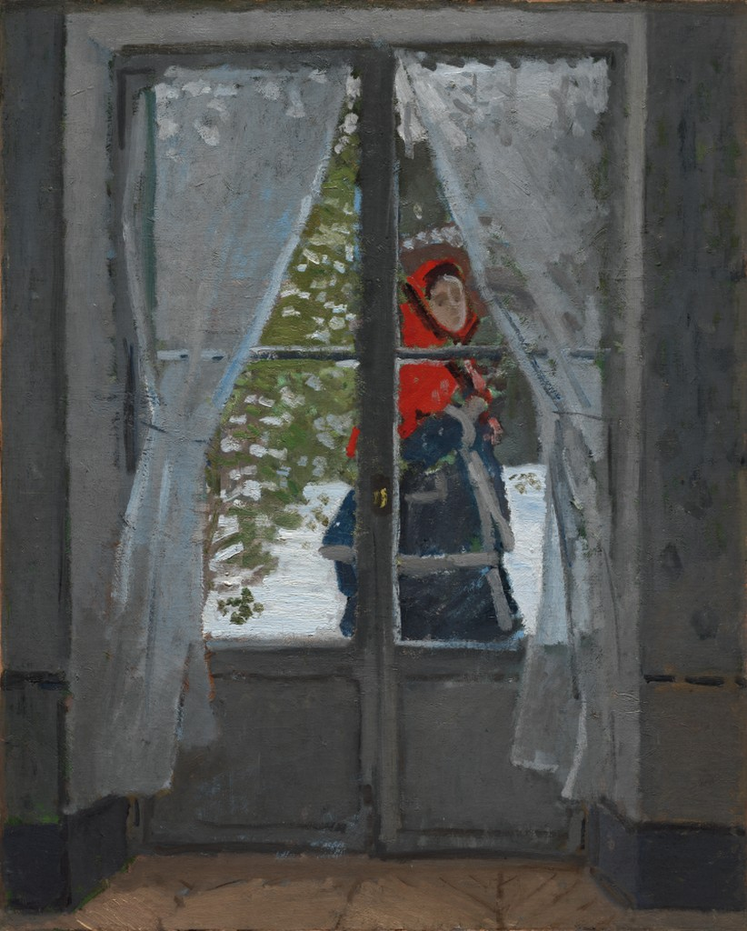 The Red Kerchief, Claude Monet, circa 1868-1873collection of The Cleveland Museum of Art, Creative Commons license