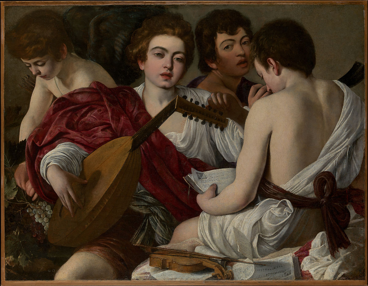 The Musicians by Caravaggio