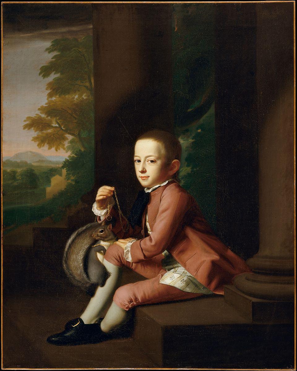 Daniel Crommelin Verplanck by John Singleton Copley