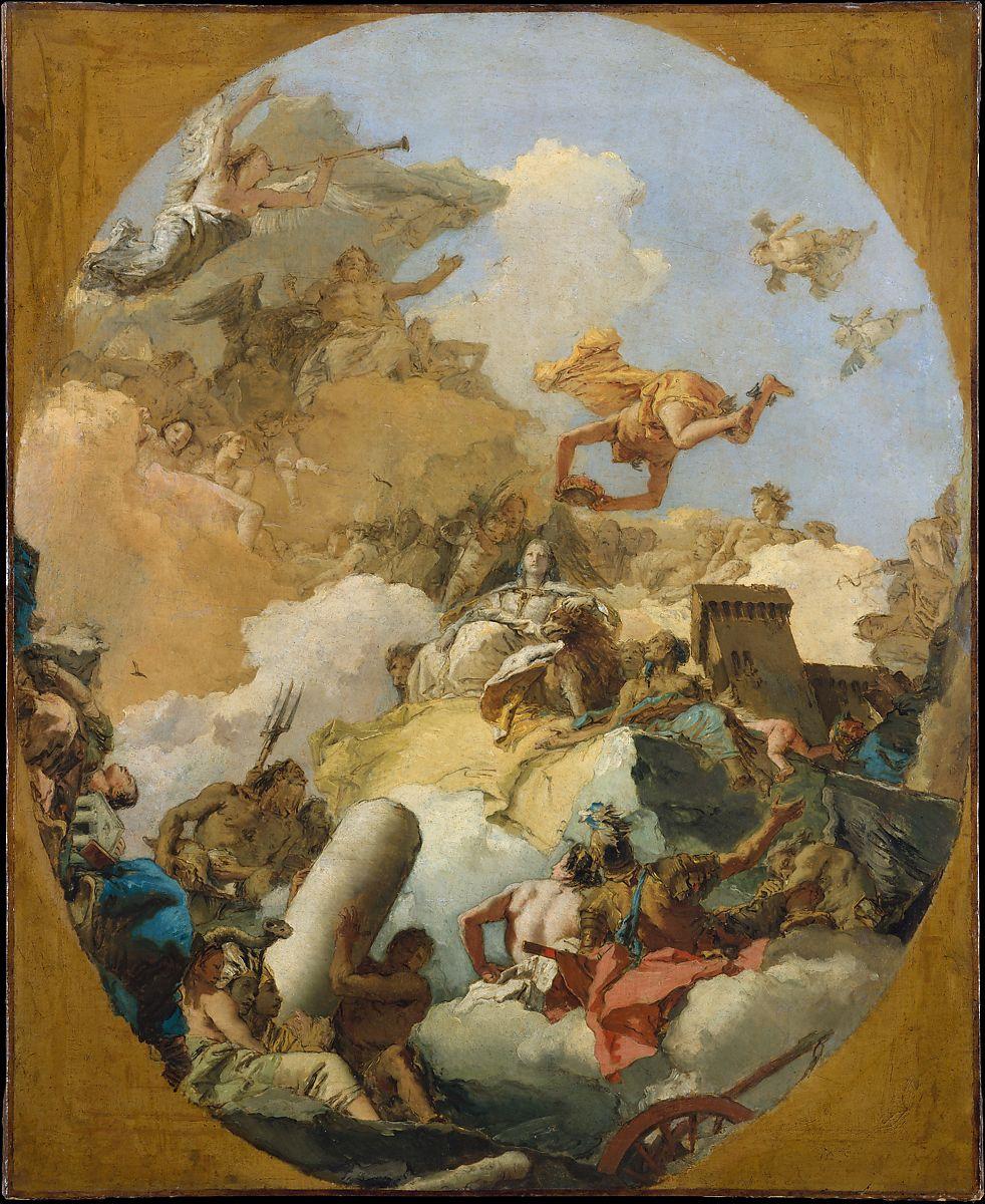 The Apotheosis of the Spanish Monarchy by Giovanni Battista Tiepolo