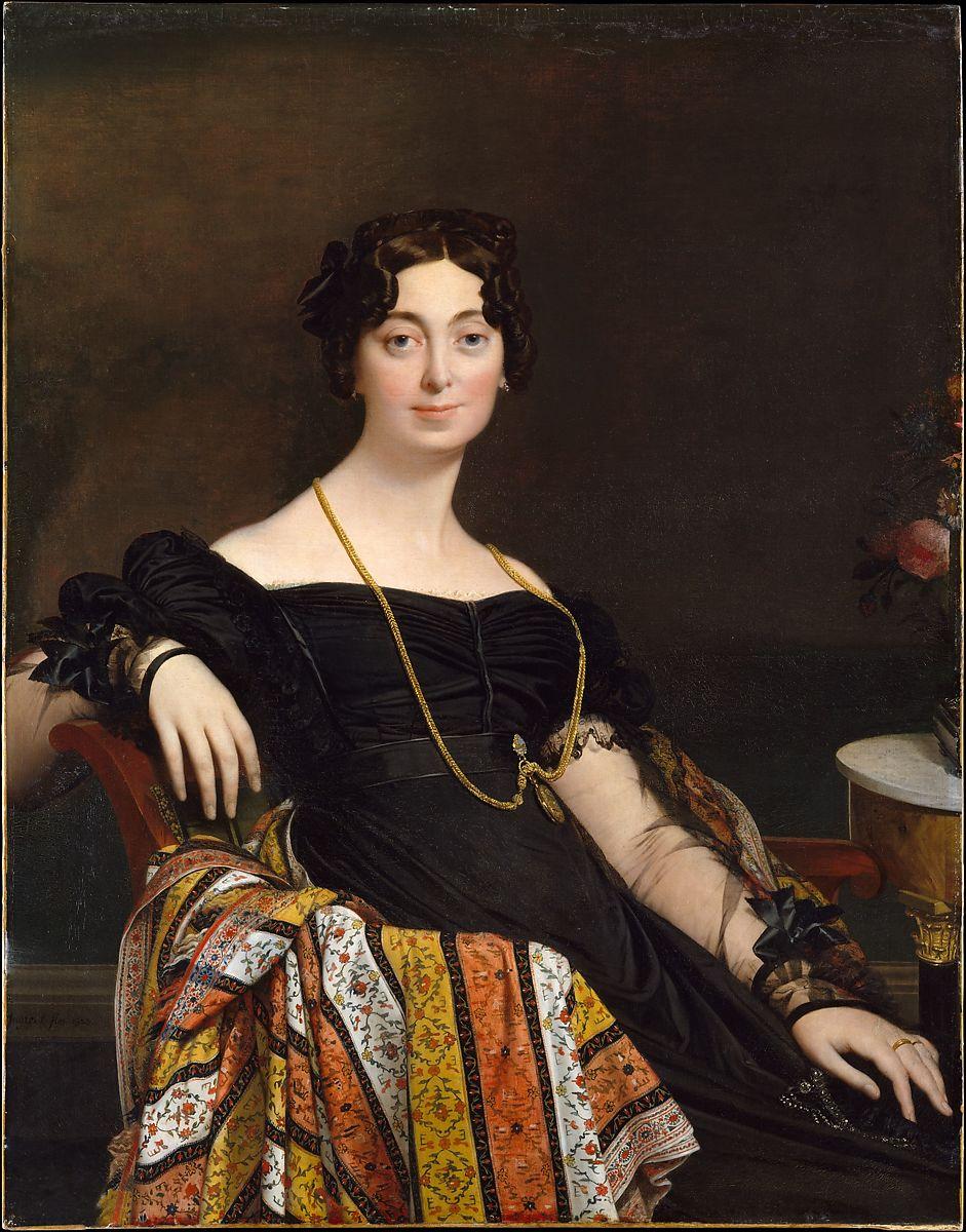 Madame Jacques-Louis Leblanc (Françoise Poncelle, 1788–1839) by Jean Auguste Dominique Ingres