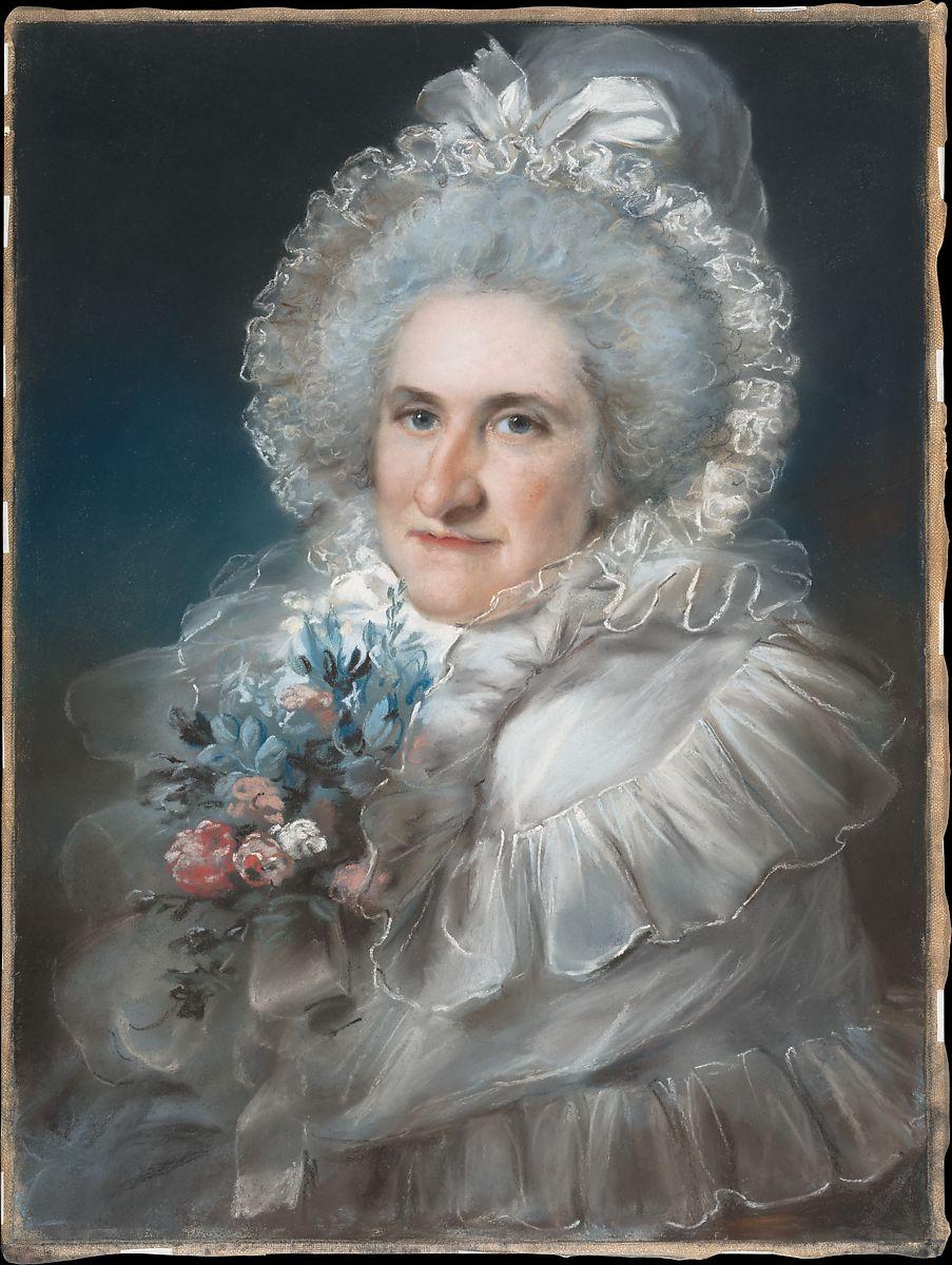 Mrs. William Man Godschall (Sarah Godschall, 1730–1795) by John Russell