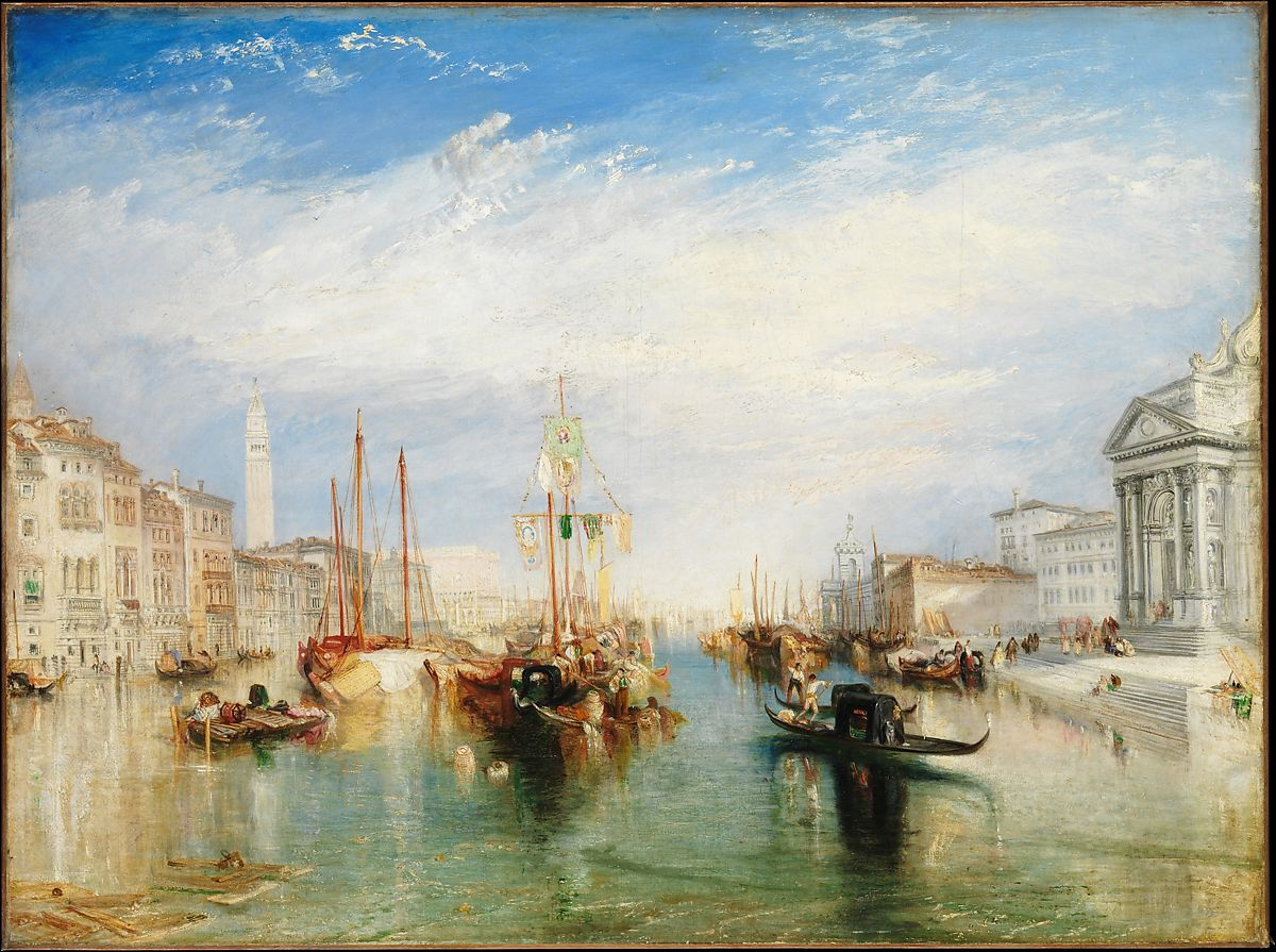 Venice, from the Porch of Madonna della Salute by Joseph Mallord William Turner