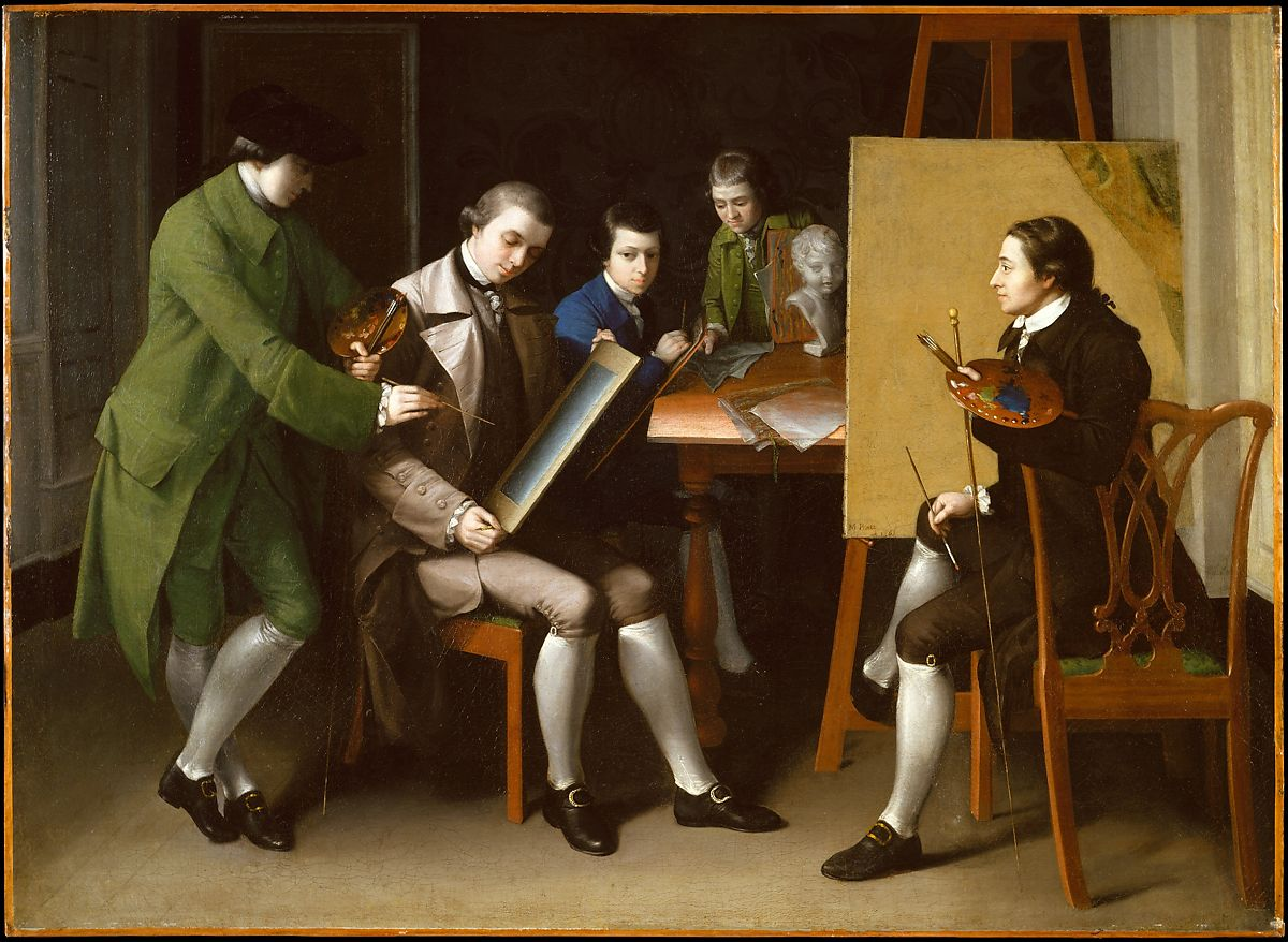 The American School by Matthew Pratt