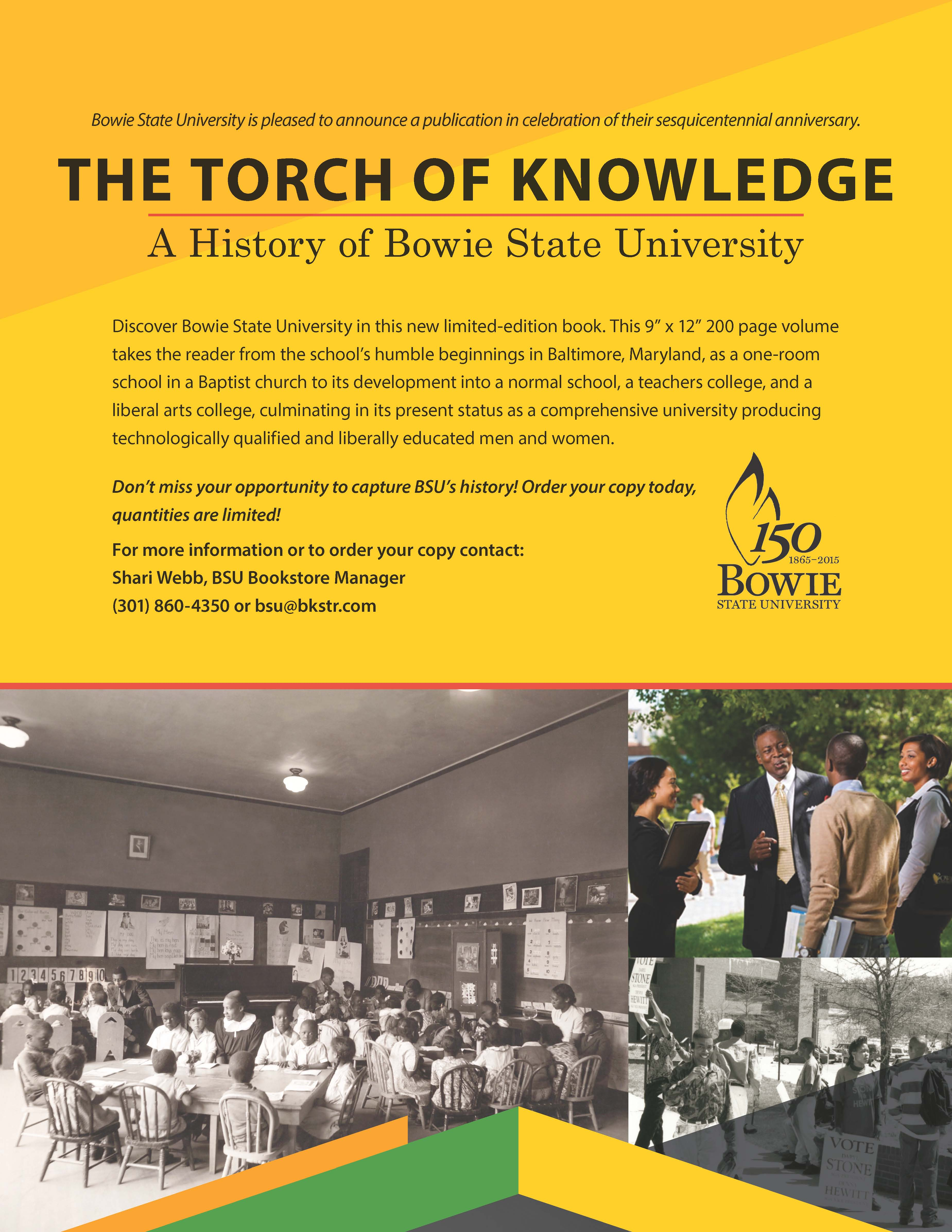 Torch of Knowledge: A History of Bowie State University