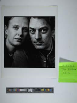 Paul Auster and Siri Hustvedt