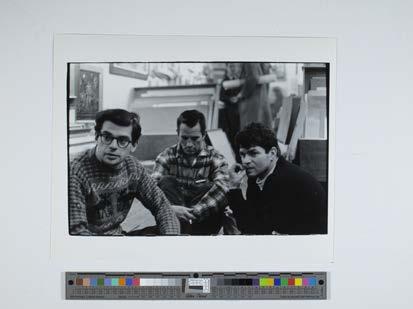 Corso, Ginsberg, Kerouac Portraits