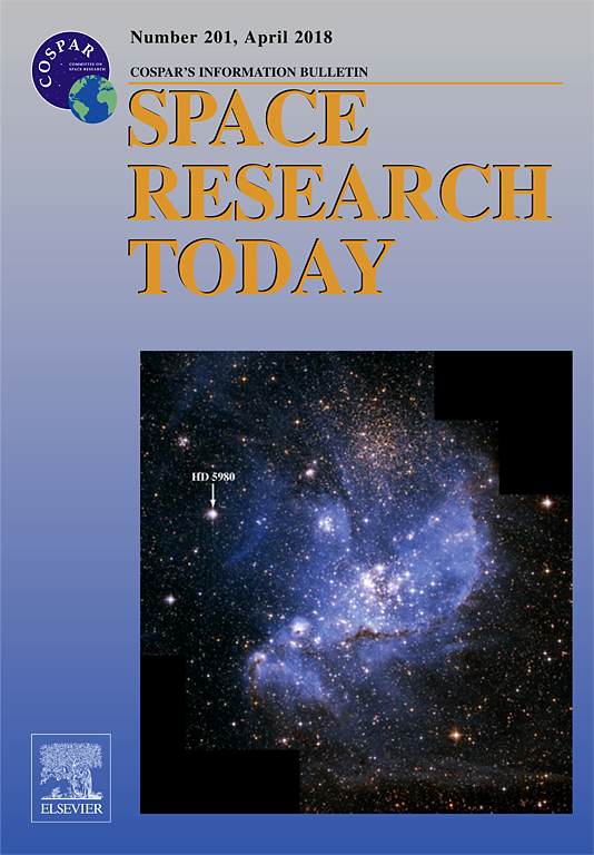The cover of volume 201 of the Space Research Today journal