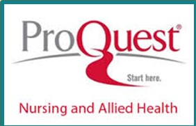 ProQuest Nursing and Allied Health