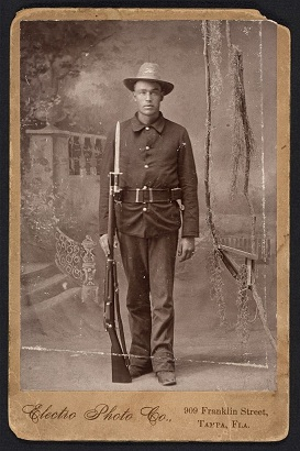 photo of Spanish American War soldier, Infantry,