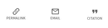Tool icons: permalink, email, citation generator