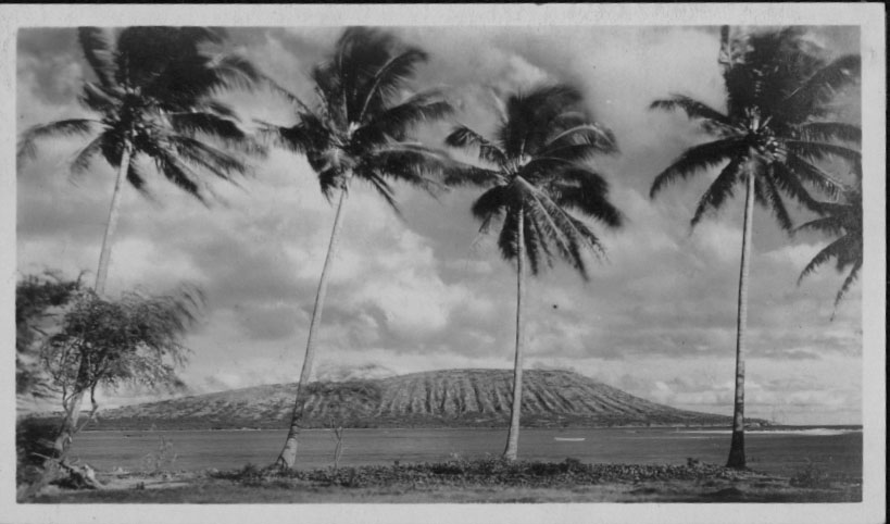 Kuamoʻokāne (Koko Head), Source: Hawaiʻi State Archives Digital Collections.