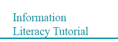 Information literacy tutorial
