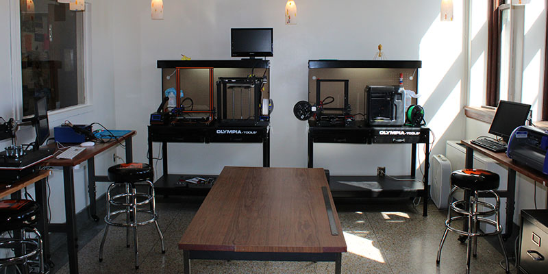 Camden Carroll Library Makerspace - 3D Printers Overview