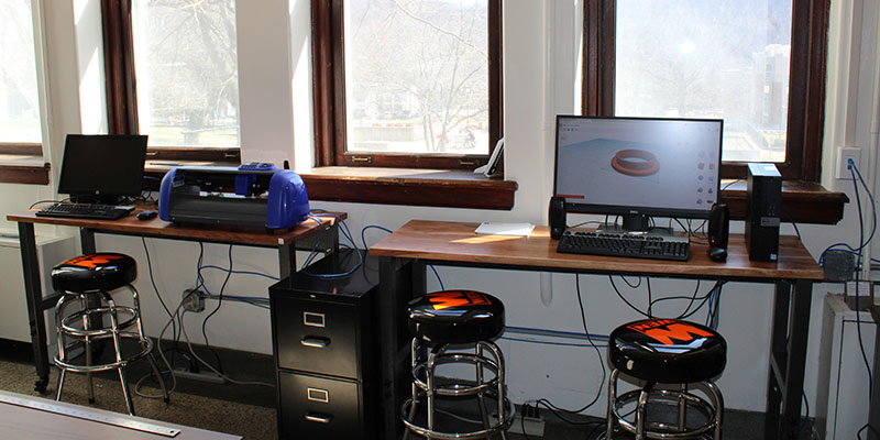 Camden Carroll Library Makerspace - Design Station and Vinyl
