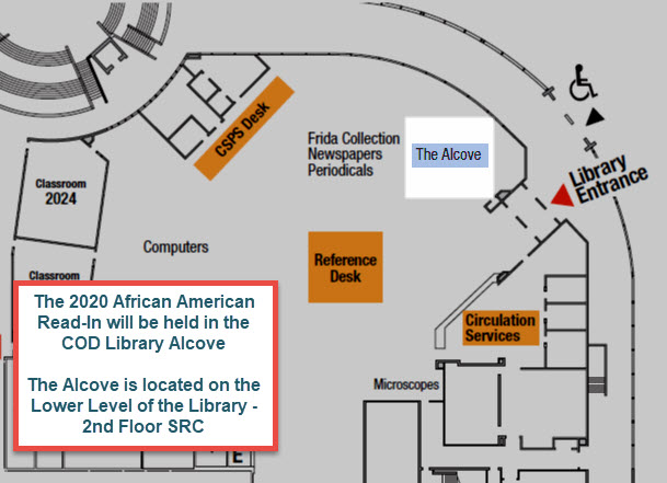 map of library lower level