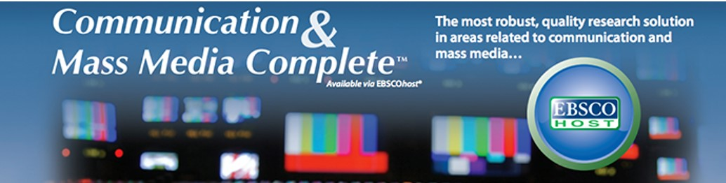 CMMC - Communication and Mass Media Complete from EBSCO