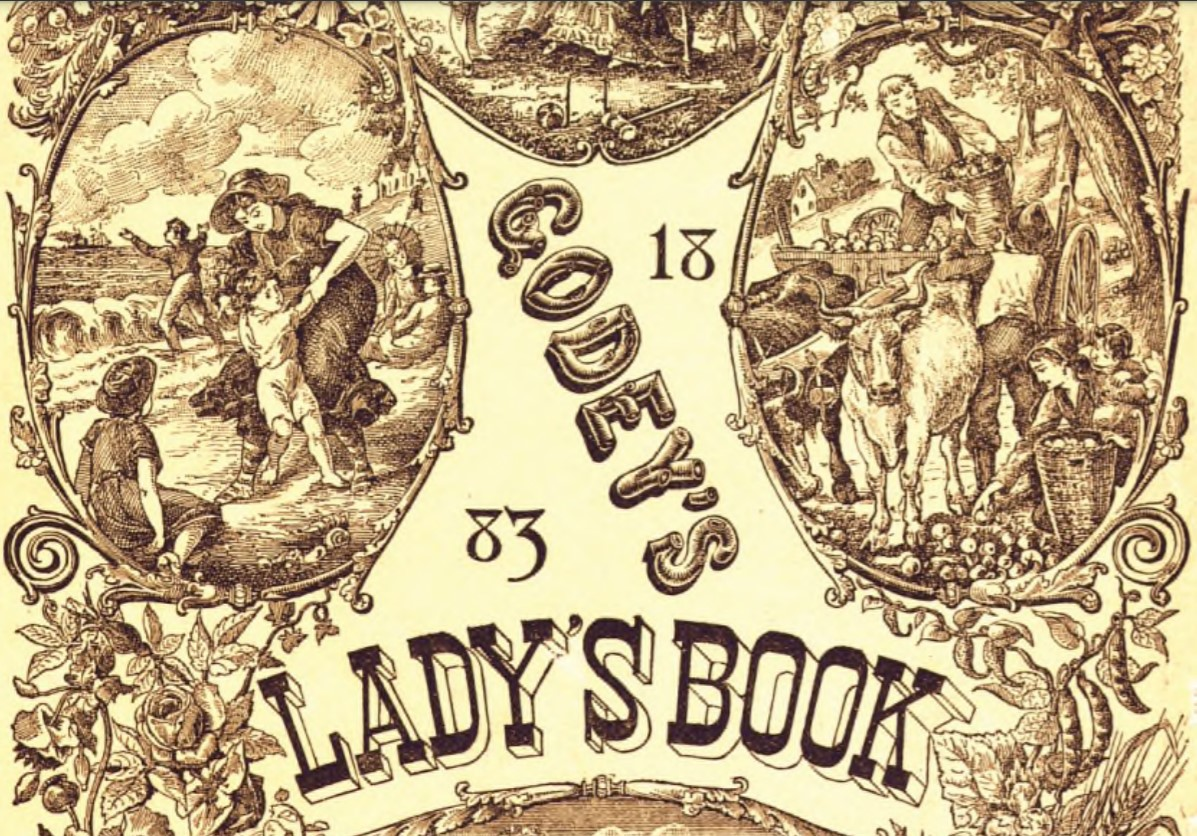 Godey's Lady's Book - 1831-1890 - Available from HathiTrust