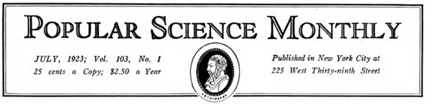 Popular Science Monthly - Link to HathiTrust archive 1873-1895