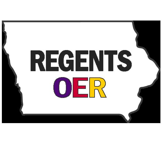 Regents OER Iowa logo