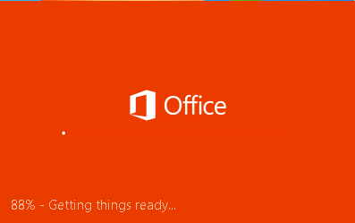 Installing Office apps