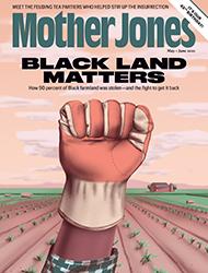 mother jones cover art