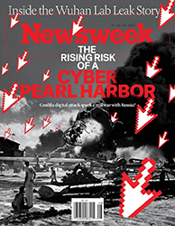newsweek cover art